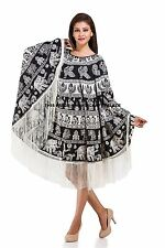 Women Beach Dress Cover Up Kaftan Mandala Sarong Beach Wear Bikini Cover up Boho
