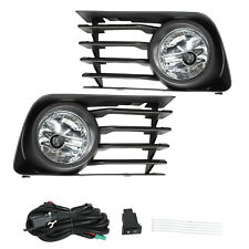 Front Bumper Fog Lights Driving Lamps w/Switch+Wiring For 2004-2009 Toyota Prius