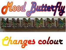 9mm  Italian Charm MB2 Mood Butterfly Changes Colour Fits Classic Size Bracelet