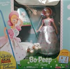 """Toy Story 13.5"""" Signature Collection Figure Bo Peep with Sheep"""