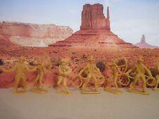 Soldatini Western Indiani Cowboys tipo Marx plastica  Vintage Anni 70°/CA/