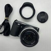 Sony NEX-F3 Black Digital Camera 16.1 MP w/ 18-55mm f/3.5-5.6 OSS Lens Silver