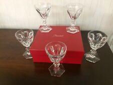20 Verres à vin rouge Harcourt en cristal de Baccarat Prix à la pièce