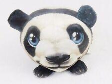 Fur Balls Baby Panda ~ Cute Cuddly Round Plush Pets, 3D Graphics, Style #12