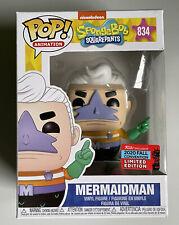 Funko POP! Mermaidman Spongebob Squarepants Animation #834 2020 Fall Convention