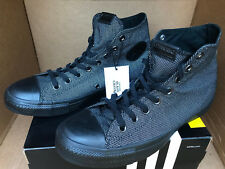 Converse CT Chuck Taylor All Star Hi 153220C Blk Blank Reflective Shoes Men's 8