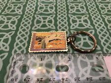 U.S. Department Of The Interior Bird Hunting Stamp Spectacled Elder Keychain