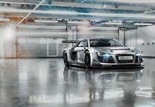 Mural Gigante Para Salón Niños Habitación & Dormitorio Audi R8 Auto Deportivo -