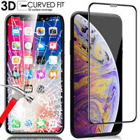 Screen Protector Tempered Glass for iPhone Xs Max, (Edge to Edge Full Coverage)