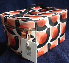 BNWT Orla Kiely Dove Train Case bag