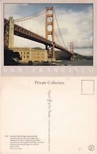 GOLDEN GATE BRIDGE SAN FRANCISCO UNITED STATES UNUSED COLOUR POSTCARD