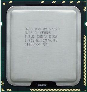 Intel Xeon W3690 SLBW2 3.46GHZ 12MB 6.4GT/s LGA 1366 Six-Core CPU Processor