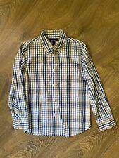 E. Land boys plaid button up shirt size 6