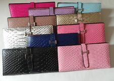 Fashion Women Crocodile Lady Leather Wallet Clutch Long Card Case Purse Handbag