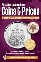 "DIGITAL BOOK ""2014 COINS & PRICES GUIDE TO US, CANADIAN AND MEXICAN COINS"""