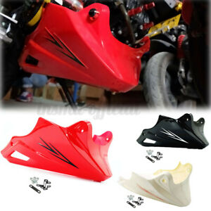 Engine Under Cowl Lower Fairing Belly Pan Cover For Honda 2013-2015 Grom M /O