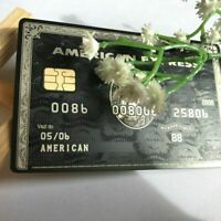 American Express Black Centurion Amex Bank Card CUSTOMIZE YOURSELF Gift Free