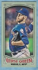 2016 Topps Gypsy Queen Baseball ~ Zack Wheeler ~ Mets ~ #103 Mini Green~ #'d /99
