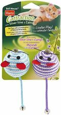Hartz Cattraction Silver Vine & Catnip Cat Toys. > Colors May vary. <