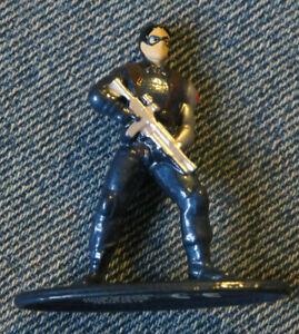 Nano Metalfigs LOOSE Marvel Winter Soldier (32458) Figure