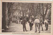 CPA Flassans-sur-Issole (83) Place du Pradon