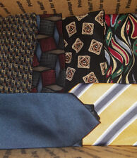 large lot of men's vintage silk designer neckties Bill Blass Neo Talbott & more