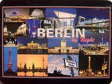 BERLINO di Night Calamita da frigorifero 3D MAGNETE 6 x 8 0,4 cm