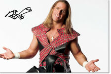 SHAWN MICHAELS PHOTO PRINT POSTER PRE SIGNED - 12 X 8 INCH - PREMIUM QUALITY