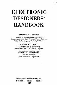 Electronic Designers Handbook * CDROM * PDF