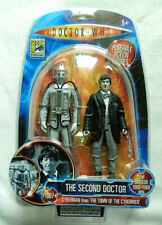 Doctor Who THE SECOND DOCTOR & CYBERMAN B & W Comic Con Exclusive action figure
