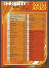 PANINI WORLD CUP SOUTH AFRICA 2010- #050-CHECKLIST 1