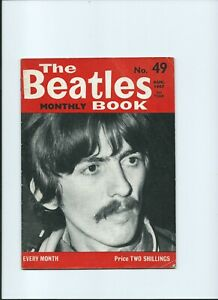 BEATLES Original Monthly No 49 August 1967 vgc