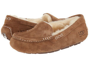Women UGG Australia Ansley Slipper 3312 Chestnut Suede 100% Original Brand New