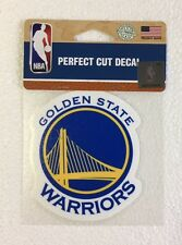 "Golden State Warriors 4"" x 4"" Logo Truck Car Window Die Cut Decal Color New NBA"