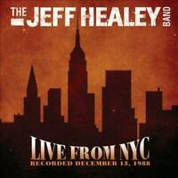 THE JEFF HEALEY BAND - LIVE FROM NYC NEW CD