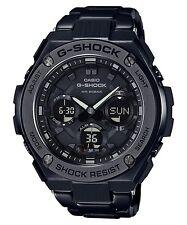 New Casio G-Shock G-Steel Tough Solar Black PVD Steel Men's Watch GSTS110BD-1B