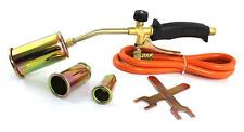 28Kw 1,5m Brenner Löten Gasbrenner Dachbrenner Abflammgerät Set 3