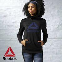 Reebok Crossfit Womens Workout Graphic Hoodie Hooded Sweatshirt Free Post