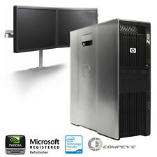 HP Z600 Workstation/ PC x2 Intel E5506 2.13Ghz / 12GB RAM/ 1TB HDD/ Win10