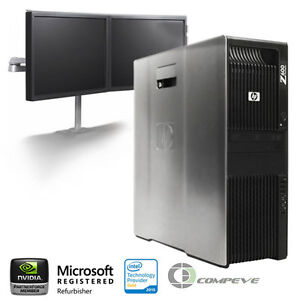 HP Z600 Workstation/ PC x2 Intel E5506 2.13Ghz / 12GB RAM/ 1TB HDD/ Win10
