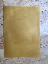 20 SHEETS A4 Gold Transluscent Vellum Tracing Paper Free Cutting service