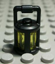 Lego Figur Zubehör Laterne Lampe Schwarz Transparent Gelb               (1659 #)