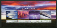 Australia 2018 MNH Cloudscapes Clouds Cumulonimbus Arcus 4v M/S Nature Stamps