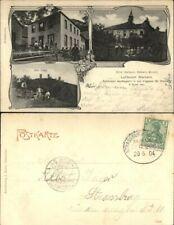 Marbach Vogesen Elsass Hotel , früheres Kloster, Drei Exen, RR! 1904