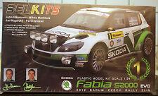 2012 SKODA FABIA S 2000 EVO Czech Rally, 1:24, BELKITS 004
