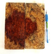 Amboyna Burl Exotic Wood Lumber #PD150 x 2pcs