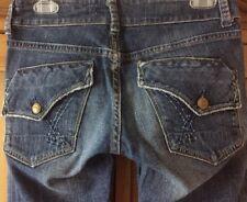 VIGOSS STUDIO Stretch Denim Jeans Size 27 BEST Butt Pockets Distressed