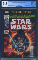True Believers Star Wars Classic 1 (Marvel) CGC 9.8 White Pages
