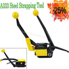 """A333 Manual Steel Strapping Tools for Strapping Width 1/2""""-3/4"""" Steel Strap Easy"""