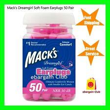 Mack's Dreamgirl Soft Foam Ear Plugs Macks Earplugs eBargainClub